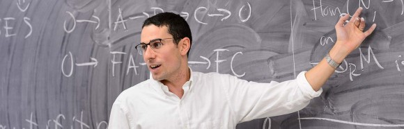 Daniel Erman, Assistant Professor in Mathematics